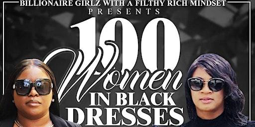 100 Women in Black Dresses Networking