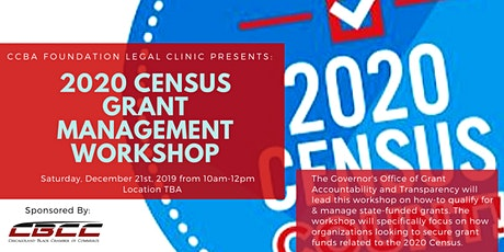 2020 Census Grant Management Workshop tickets