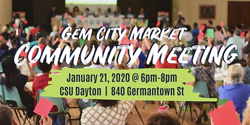 Gem City Market January Community Meeting