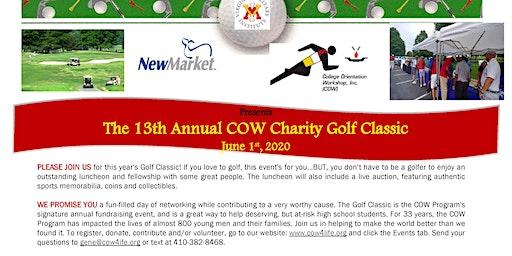 2020 COW Charity Golf Classic - 13th Annual