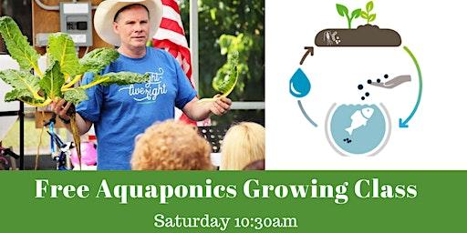 FREE AQUAPONICS GROWING CLASS