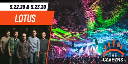 Lotus in The Caverns - 2 Nights!