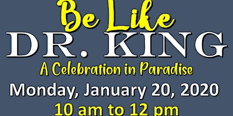 Martin Luther King, Jr. Day Celebration tickets