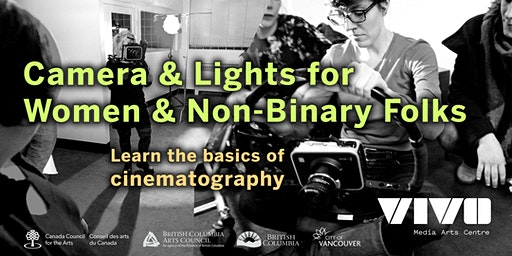 Camera & Lights for Women & Non-Binary Folks with Paige Smith