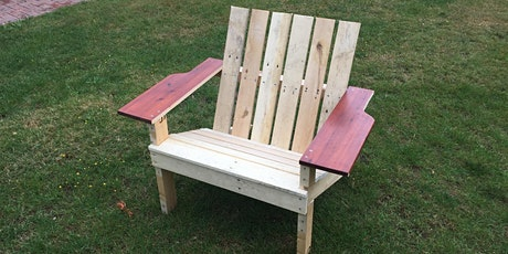 Juniors - Build a wooden deckchair to take home.  Age 10+ tickets