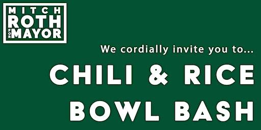 Chili & Rice Bowl Bash