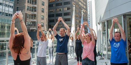 Drunk Yoga® at EVEN Hotel...FREE Wine! *Thursdays in Midtown East tickets