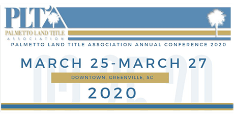 2020 Palmetto Land Title Association Annual Convention tickets
