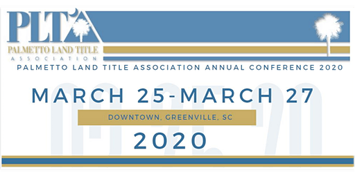2020 Palmetto Land Title Association Annual Convention