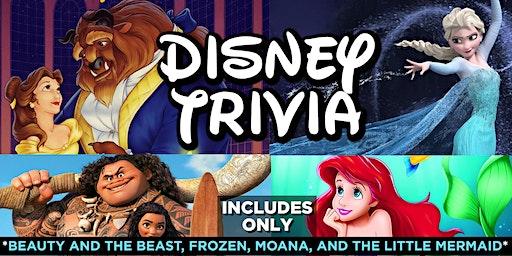 Disney Movie Trivia - Beauty and The Beast, Frozen, Moana and The Little Mermaid