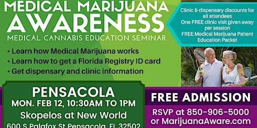 Pensacola- Medical Marijuana Awareness Seminar
