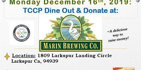 Marin Brewing Company: Dine Out & Donate tickets