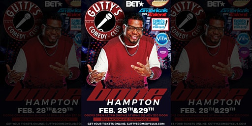 Gutty's Comedy Club: Bone Hampton Featuring Kyle Yamada