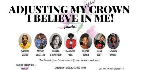 Adjusting my Crown: I believe in Me!  - Women and Girls event tickets