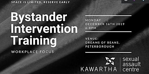 Bystander Intervention Training- Workplace Focus