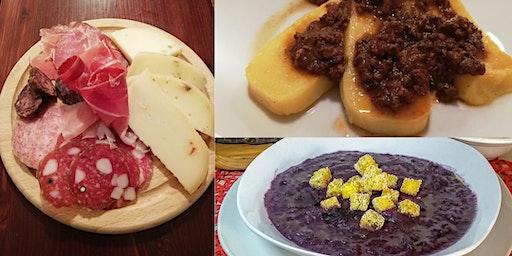 Cena con Polenta che passione e altre specialità