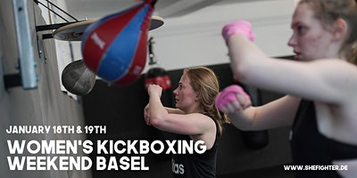 Women's Kickboxing Weekend Workshop Basel