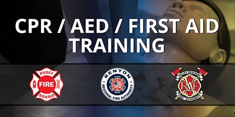 CPR/AED ($30) & First Aid Training ($30) tickets