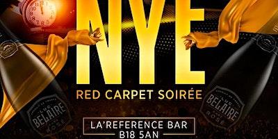 N Y E  Red Carpet Soireé Celebration