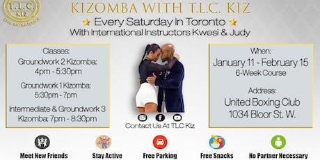 Kizomba Dance Lessons in Toronto With Kwesi & Judy tickets