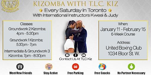 Kizomba Dance Lessons in Toronto With Kwesi & Judy