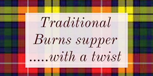 Buchanan Burns Supper *with a twist