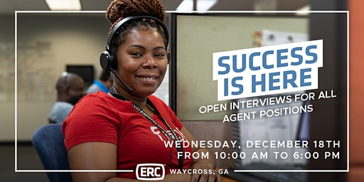 ERC Waycross Open Interviews December