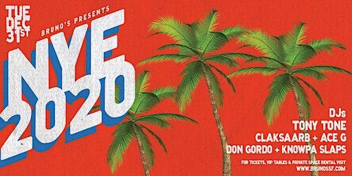 Bruno's New Years Eve 2020 | DJs Tony Tone & CLAKSAARB w/ Motown On Mondays