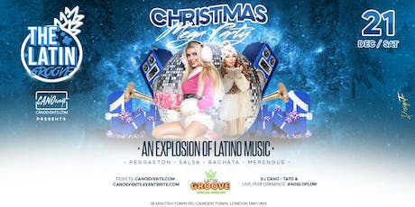THE LATIN GROOVE - Christmas megaparty tickets