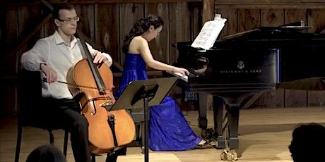 Jacob Wunsch (cello) & Haeshin Shin (piano) Recital tickets