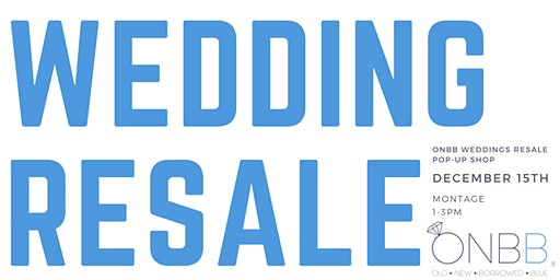 Wedding Resale Pop-Up Shop