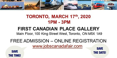 Toronto Transportation Job Fair - March 17th, 2020 tickets