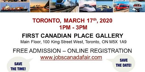 Toronto Transportation Job Fair - March 17th, 2020
