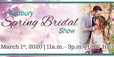 Sudbury Spring Bridal Show 2020 tickets