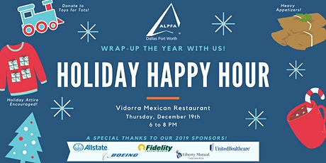 Holiday Happy Hour with ALPFA DFW tickets