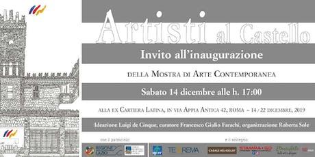 Artisti al Castello biglietti