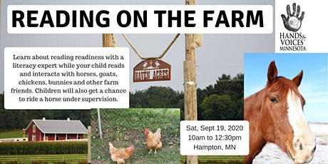 MNH&V Family Event: Reading On The Farm - Postponed tickets