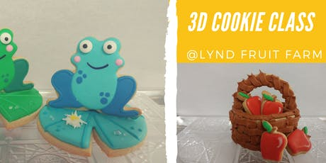 3-D Cookie Decorating Class tickets