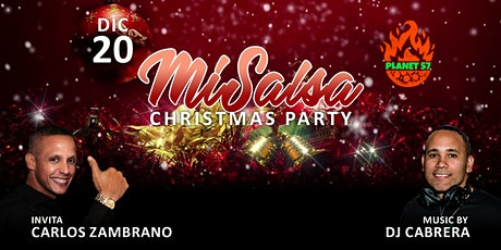 Mi Salsa Christmas tickets