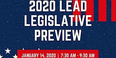 2020 LEAD Legislative Preview tickets