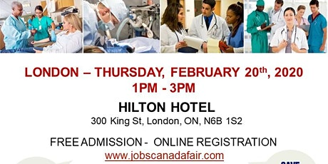 London Healthcare Profession Job Fair - February 20th, 2020 tickets