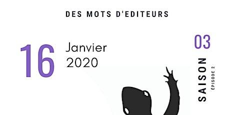Métailié se raconte avec Des Mots D'Editeurs au Styx billets