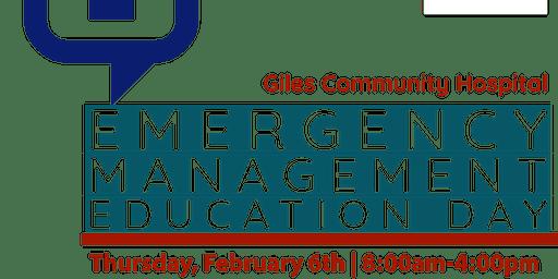 Carilion Giles Emergency Management Education Day