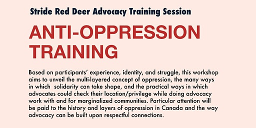 Anti-Oppression Training