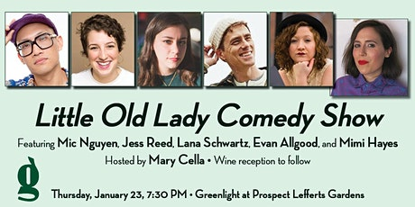 Little Old Lady Live: a Free Comedy and Humor Reading Show tickets