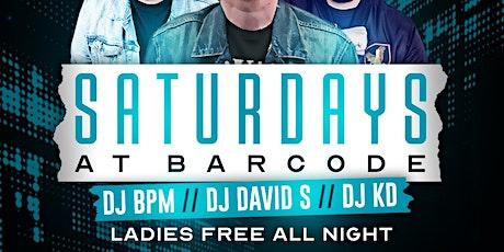 Saturdays @barCode tickets