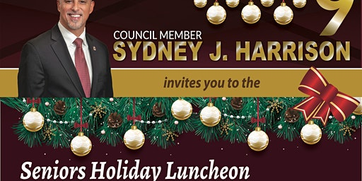 District 9, Seniors' Holiday Luncheon