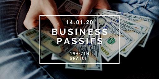 Conférence Business Passifs : Générer des revenus automatisés
