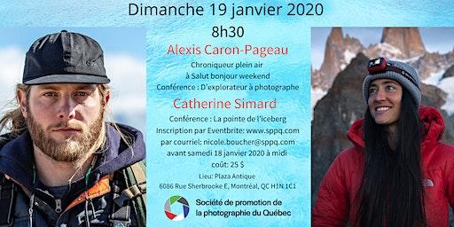 Matinée-rencontre- 19 janvier 2020- Alexis Caron-Pageau et Catherine Simard