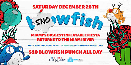Snowfish: Miami's Biggest Holiday Inflatable Party! tickets